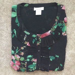 {Kate Hill} Floral Blouse